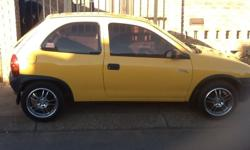 START AND GO CORSA IN PERFECT CONDITON.BODY WORKS AND
