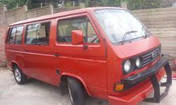 Microbus, ideal for loading school kids with 2 lt