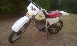 Honda XR 200R for sale, good ccondition. R12000