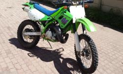 250 Two stroke KDX Good condition with body kit  for