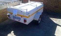 6FT Venter Pony trailer with nosecone spare wheel and