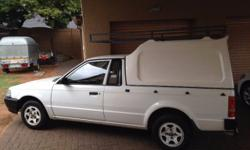 Ford Bantam Bakkie 1.3 1998 With Canopy Recently