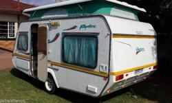 Gypsey Rapture 1998. 6 Berth , full tent , Rally tent