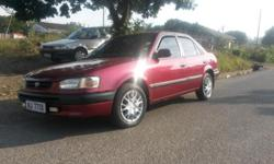 1998 toyota corolla 160i auto, power steering, central