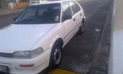 Hi I'm selling my toyota tazz 98 model in good driving