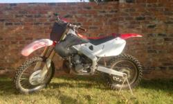 99'' cr250 for sale. new vertex flat top piston.