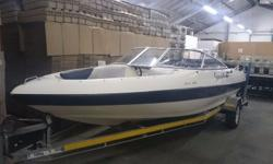 Sensation 19 foot boat on trailor (licensed) with