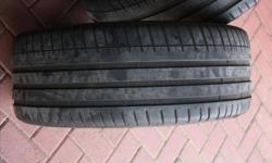 the tyres i have are 245/40/19 Michelin PS3 with about