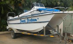 Owner selling 2006 model 19' Yeld Cat with 2 x 115hp