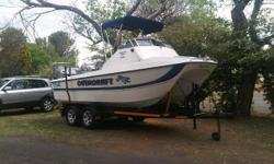 1999 19FT Tom Cat Forward Consul with 2x 90HP Mariner