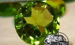 Beskrywing Peridot Weight: 1.25 CT Facet: Brilliant