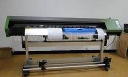 1.6m Eco Solvent Printer with Epson Dx5 Head