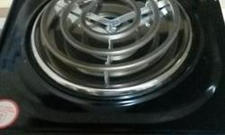 1 plate hob, still new, used only once, selling because