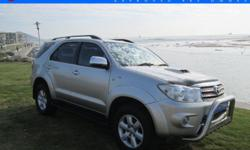 2-Year Mechanical Warranty- TOYOTA FORTUNER 3.0 D-4D