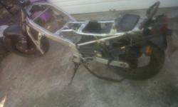Honda cbr600 rolling chassis R1500 onco rear tyre abt