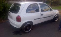2000 Opel Corsa 1.6 gsi with 173 000 km on the clock