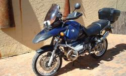 Very well looked after legendary BMW 1150 GS. Heated