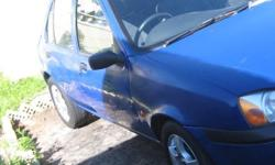 ford  fiesta  1.4  ltr  /  fuel  injection  /  4