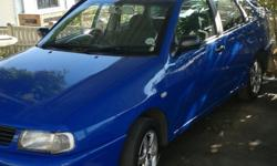 2001 VW POLO CLASSIC DECO BLUE.FULLY LICENCED TILL NEXT