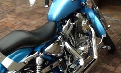 Totally rebuilt and restored Harley (engine, clutch and