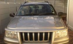 2002 Jeep Grand Cherokee for sale 206000km. grey