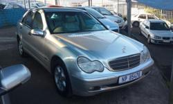 2002 Mercedes benz c200 K full house leather interior