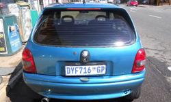 2002 Opel Corsa Coupe, Excellent Condition and Accident