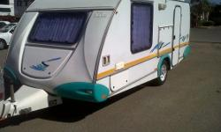 2002 Sprite Swing for sale. Caravan is well looked