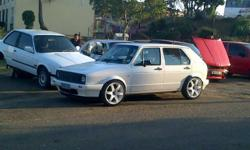 VW Golf 1, 1.4 fuel injected. Just completely