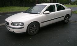 2002 Volvo S60, 2.4 Automatic, in White with Black