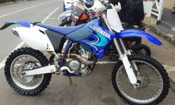 WR 250 4 stroke . Excellent condition . Electric start