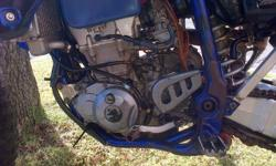 Bike in excellent condition with long range tank, full