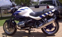 2003 BMW R1150R Rockster, is immaculate condition. Bike