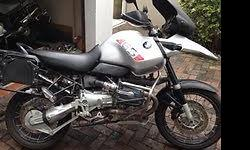 2003 BMW R1150GS ADVENTURE, SILVER, ABS AND HEATED