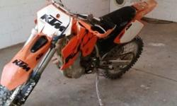 Ktm 525 exc for sale. Bike is in a excellent condition.