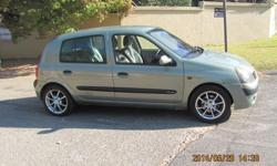 2003 RENO CLIO 1.6 16V AC PS MAGS LADY OWNER EW CL