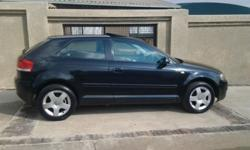2004 A3 FSI with a glassroof, leather interior,