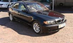 Fabrikaat: BMW Model: 320 Mylafstand: 262,203 Kms