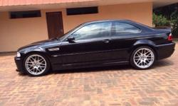 2004 BMW M3 CSL with 65,000 kilometers on the clock.