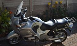 2004 BMW R1150RT for sale. Integrated ABS, heated grips