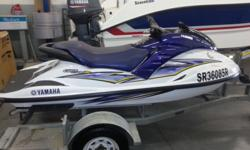 Jet ski is immacluate with 54 hrs, just serviced,