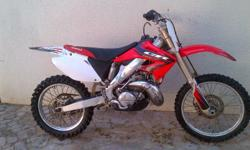 Honda cr 250 for sale. Great condition, papers in