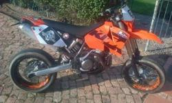 Ktm 525exc motard plus ofroad rims Mx and dual tyers