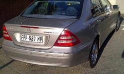 Mercedez Benz c 180 2004 Model Black Leather Full Air