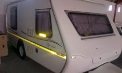 2004 Gypsey Romany Blue Series Caravan, with aircon and