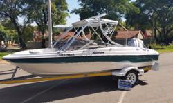 2004 Viking Carrera 2 with 150Hp Magnum lll On trailer.