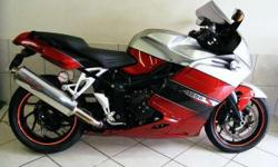 BMW K 1200 S , Red, 2005 with 34000 km`s ,From R2050 pm