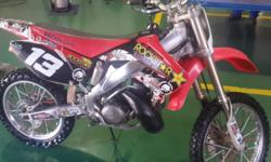 Hi guys, I have a 2005 Honda CR250R in a great