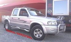 Mazda Drifter SLE 2,5TD.... Silver... Double cab...