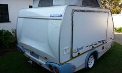 THIS IS A VERY POPULAR AND RARE CARAVAN. IT IS VERY